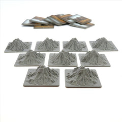 Mountain Tiles compatible with Carson City™ (set of 9)