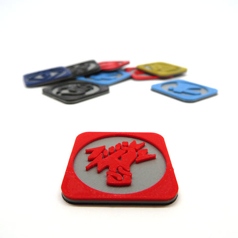 Pillage tokens compatible with Blood Rage (set of 9)