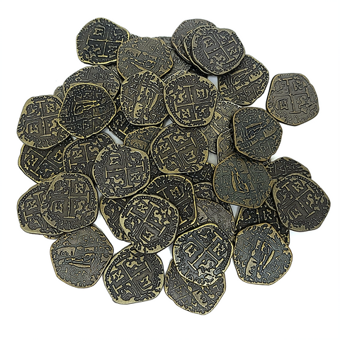 Coin bundle compatible with Architects of the West Kingdom™ (set of 50)