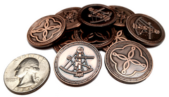 Pirate Copper Coins (set of 10)