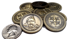 Pirate Gold Coins (set of 10)