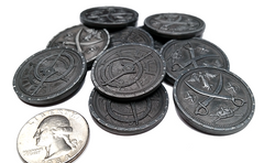 Pirate Silver Coins (set of 10)