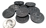 Pirate Coins Set in Burgundy Bag (set of 50)