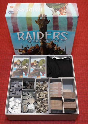 3D Printed Insert compatible with Raiders of the North Sea™ (pre-assembled)