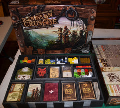 Robinson Crusoe Foamcore Insert (pre-assembled) - Top Shelf Gamer - 2