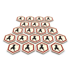 Ronin tokens compatible with Rising Sun™ (set of 20)