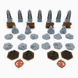 Scenery update pack compatible with Gloomhaven™ to Jaws of the Lion™ (set of 69)
