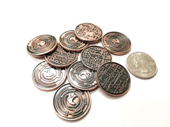 Sci-Fi 2.0 Copper Coin (set of 10)