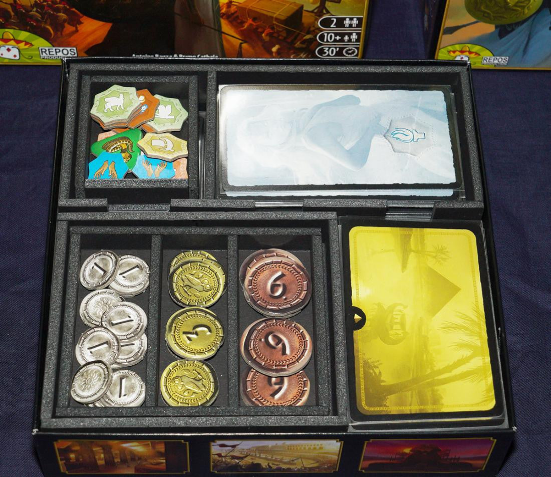 Insert Box Organizer for 7 Wonders Duel Expansion
