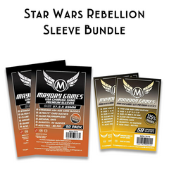 Card Sleeve Bundle: Star Wars Rebellion - Top Shelf Gamer