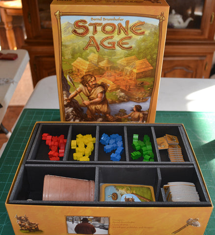 Stone Age Foamcore Insert (pre-assembled)