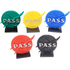 Pass Markers compatible with Terraforming Mars™ (set of 5)