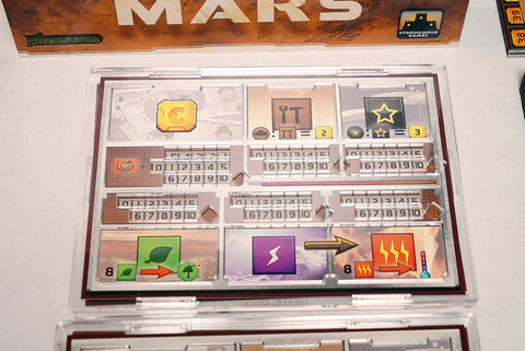 Terraforming Mars (BGBoost Version) Foamcore Insert (pre-assembled)