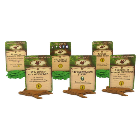 Upgrade Kit compatible with Everdell™ (set of 11)