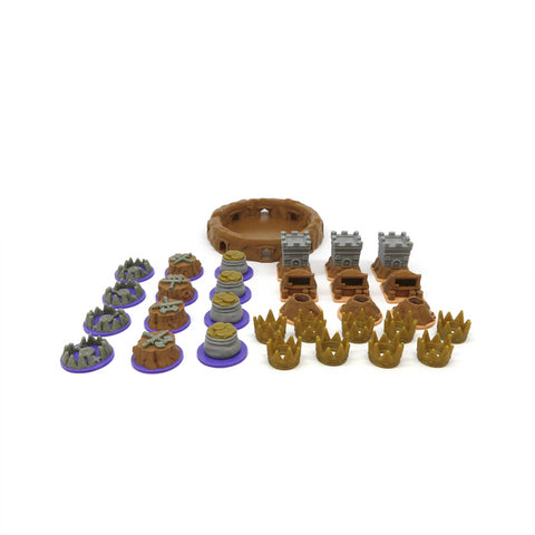 Upgrade Kit compatible with Root The Underground Expansion™ (set of 31)