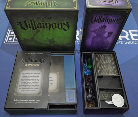 Villainous™ Version 2 Foamcore Insert (pre-assembled)