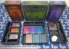 Villainous™ Version 3 Foamcore Insert (pre-assembled)