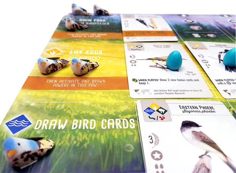 Bird Action Markers compatible with Wingspan (set of 40)