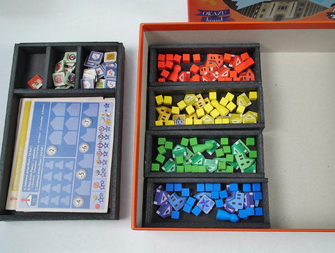 Yokohama™ (Retail version) foamcore insert (pre-assembled)