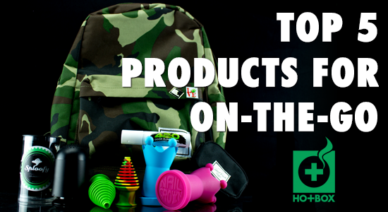 HotBox Magazine Top 5 On-The-Go Smoking Products