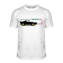 Group 4 Italian Rally Car T-shirt