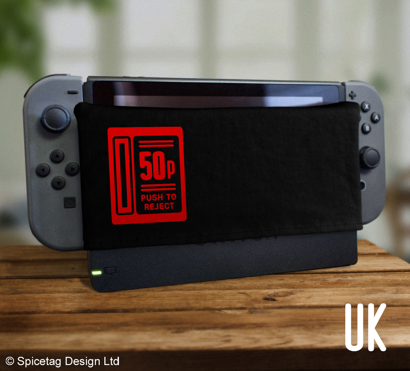 Protect your Nintendo Switch screen by getting scratched by its dock with our DOCK SOCK protectors!