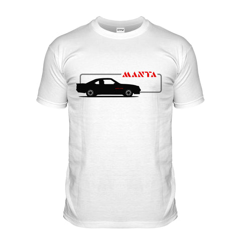 Manta 80s Sports Car T-shirt