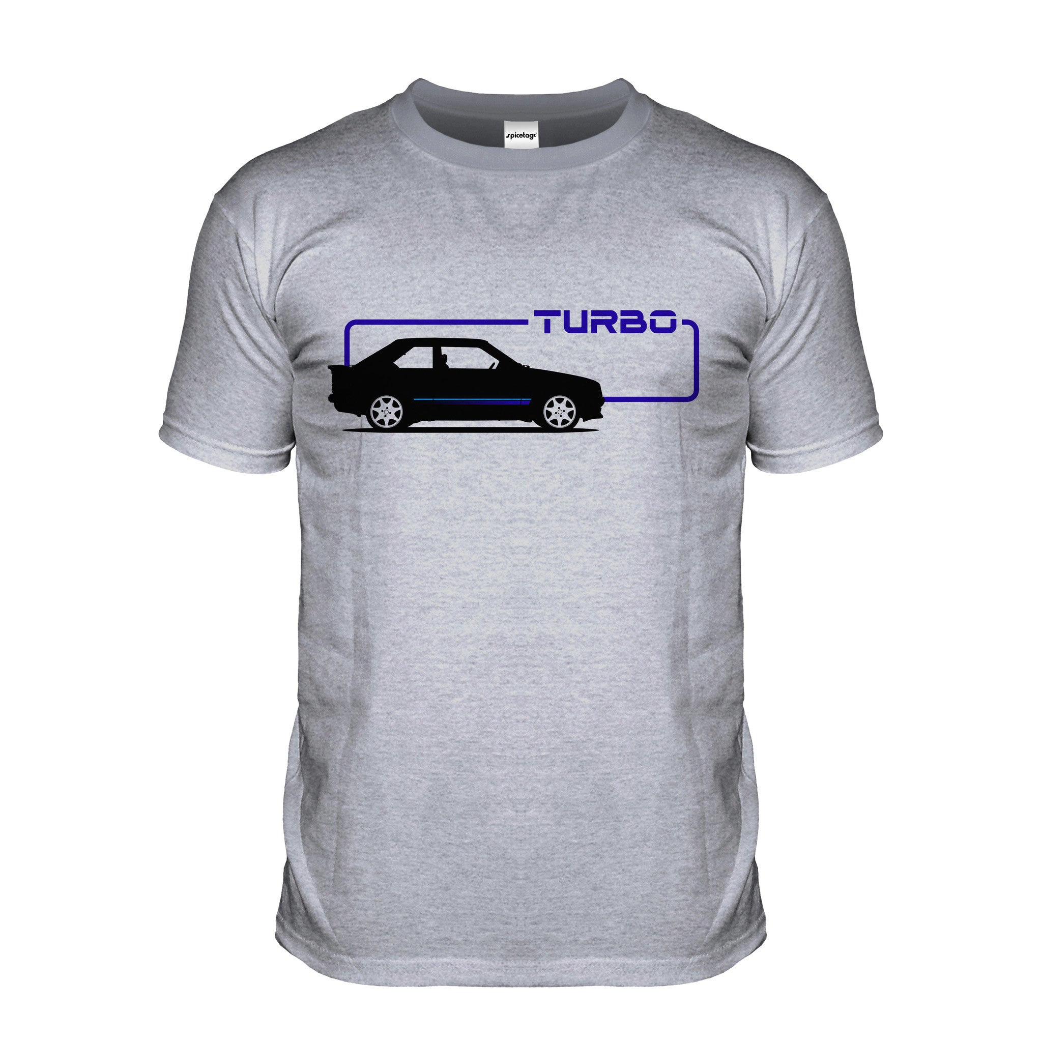 Escort Turbo Black Car T-shirt