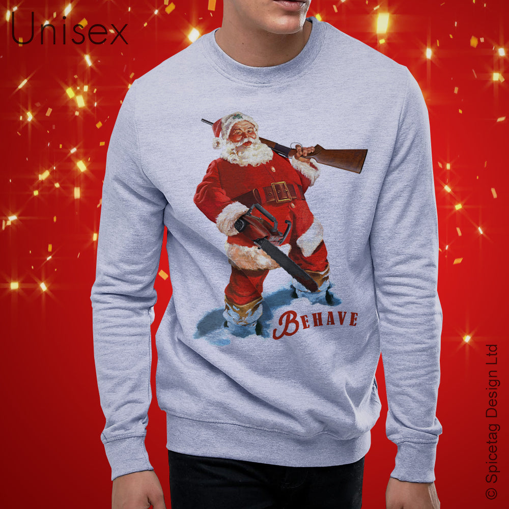 Santa Vs Evil Sweater