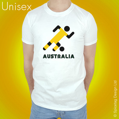 Australia Retro Football T-shirt