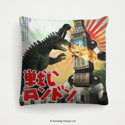 Big Ben Robot Cushion