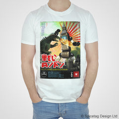 London Robot Poster T-shirt
