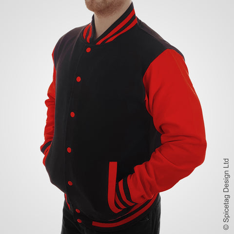 Red/Black Varsity Jacket