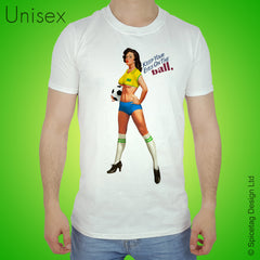 Pin-Up Brazil Football T-shirt