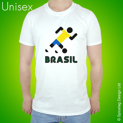 Brazil Retro Football T-shirt