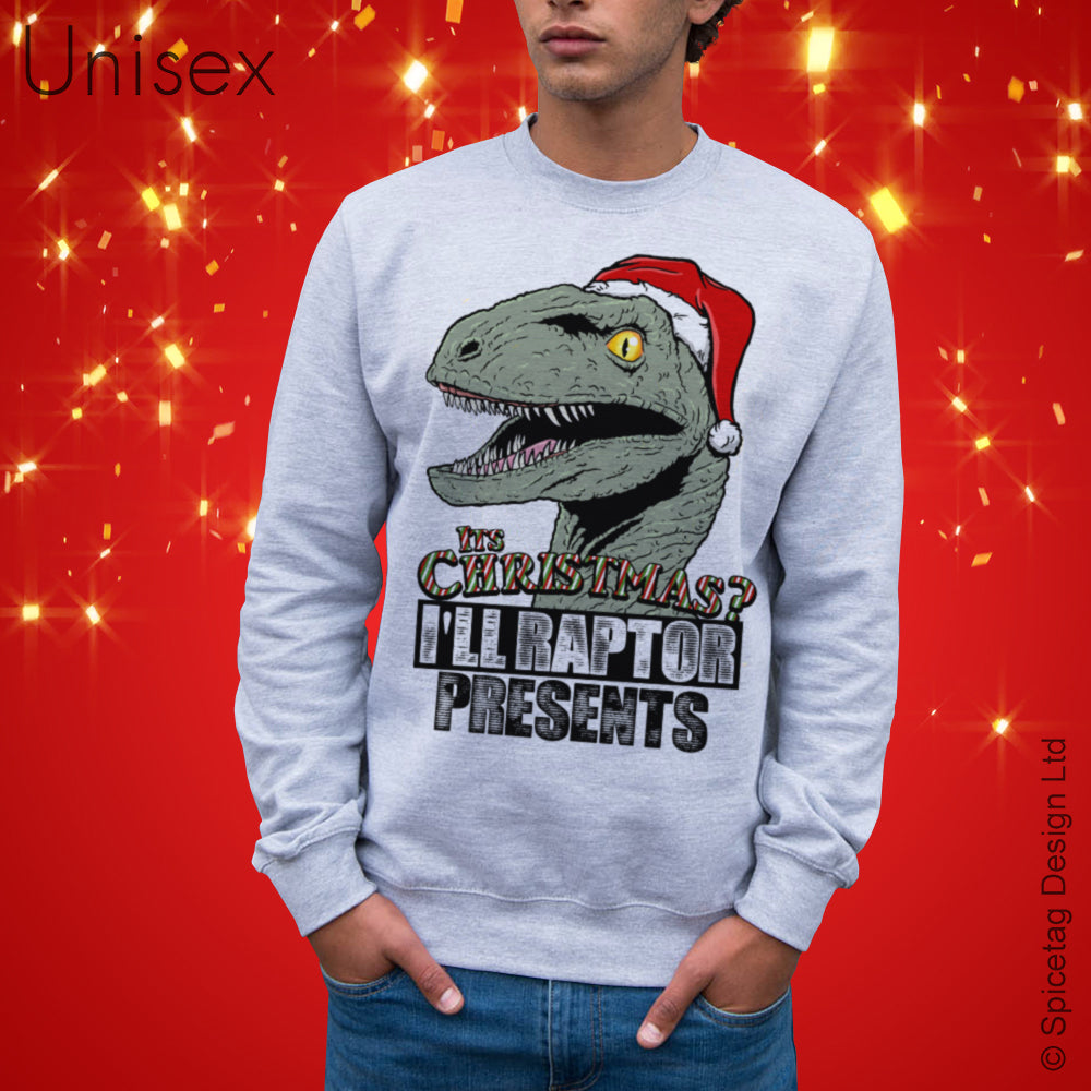 I'll Raptor Presents Sweater