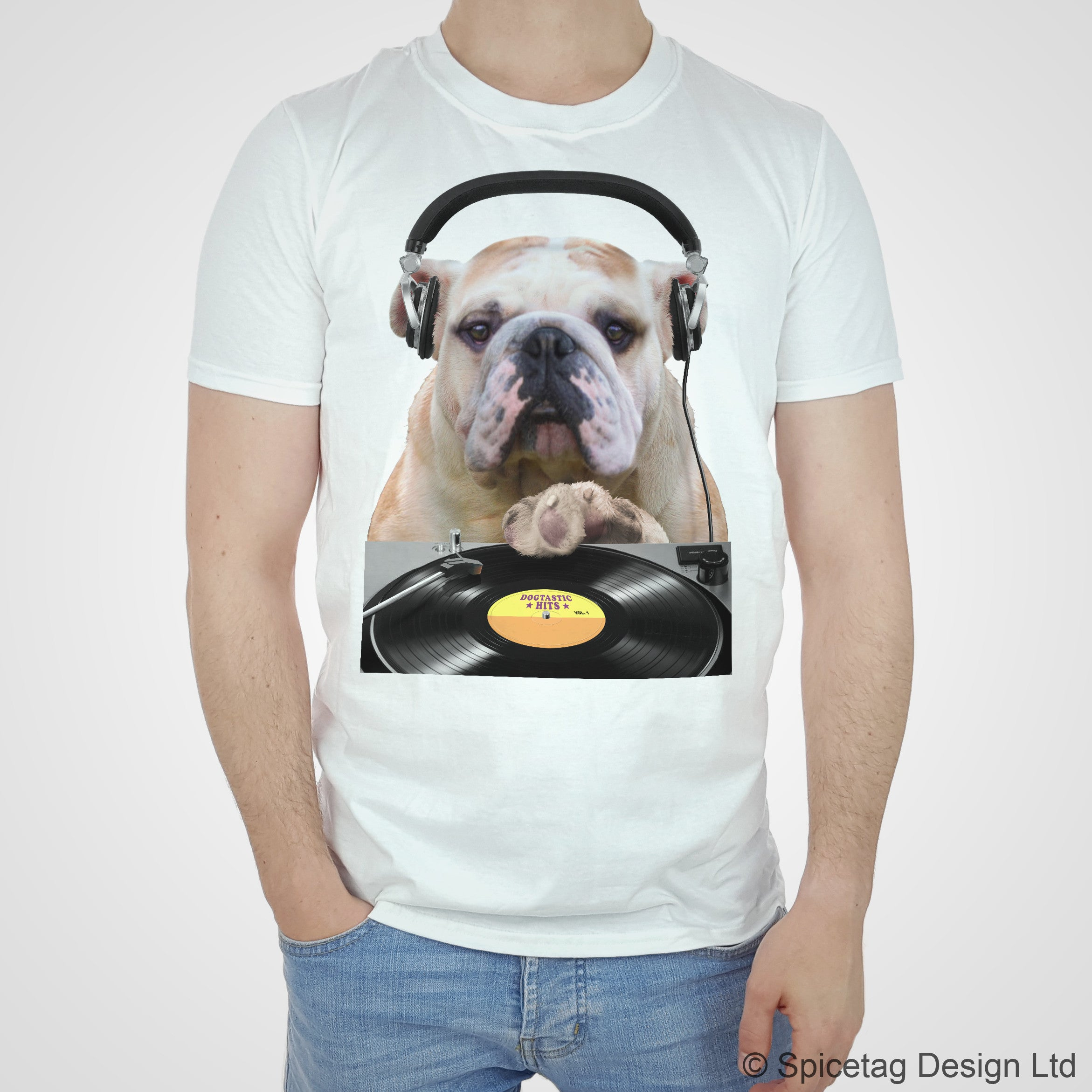 Bulldog DJ T-shirt