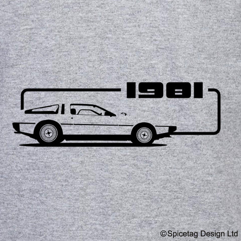 80s Legend Car T-shirt