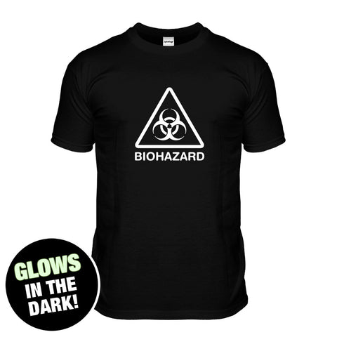 Glow In The Dark Biohazard Sign T-shirt
