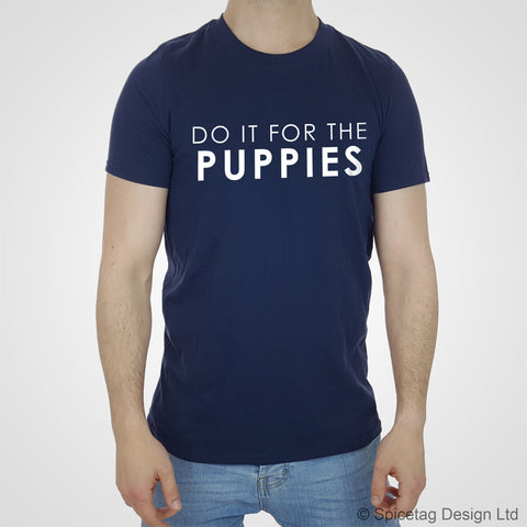 Do It For The Puppies T-shirt