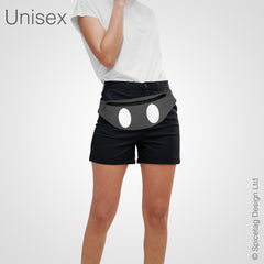 Grey Mouse Shorts Bumbag