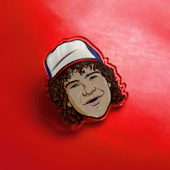 Dustin Pin Badge