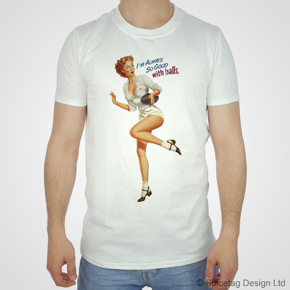 Pin-Up England Rugby T-shirt