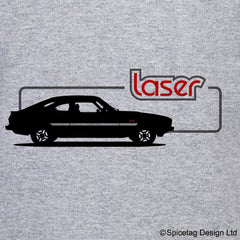 Retro Laser Car T-shirt