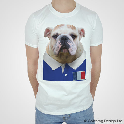 France Rugby Bulldog T-shirt