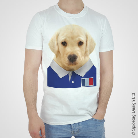 Labrador France Rugby T-shirt