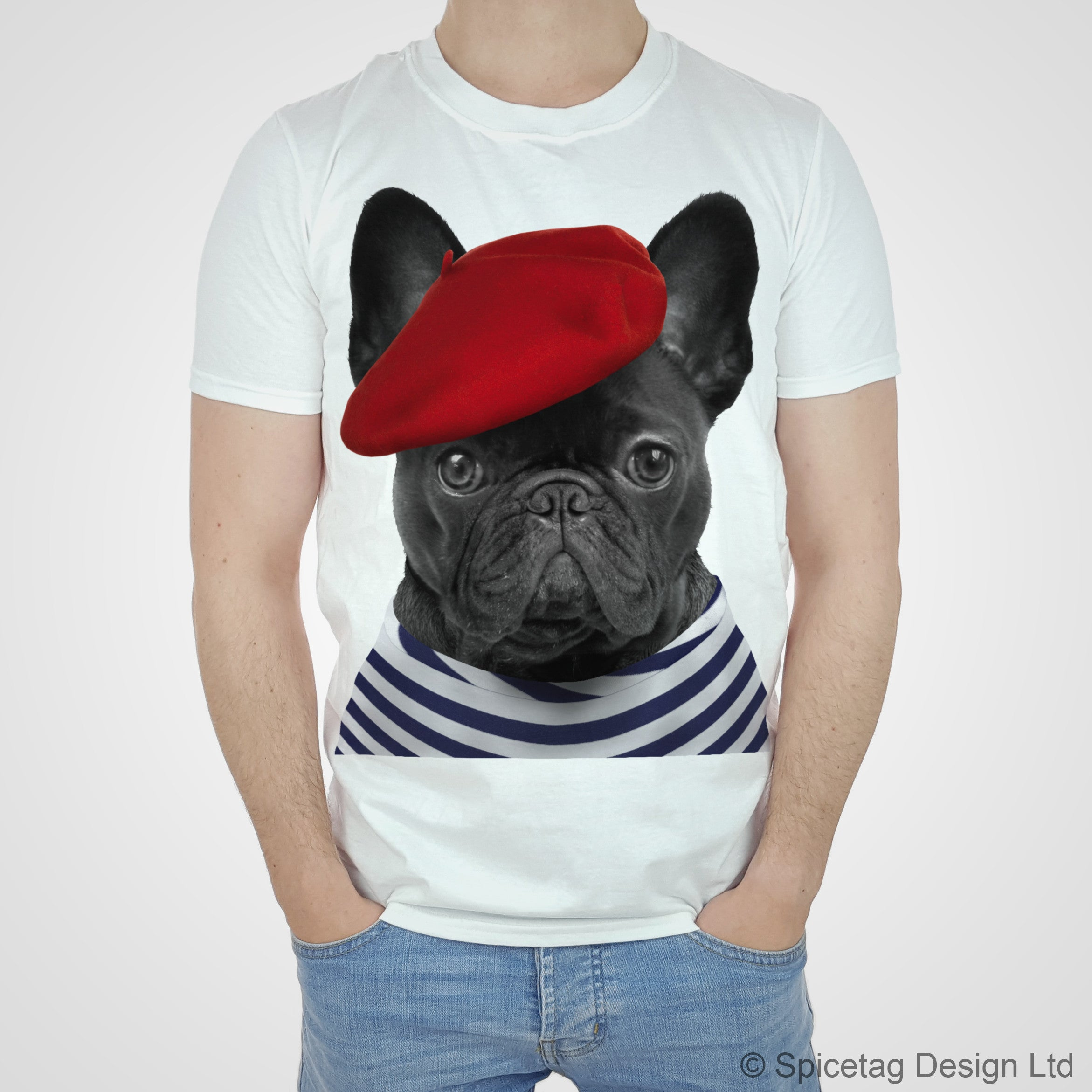 french frenchie t shirt spicetag. Black Bedroom Furniture Sets. Home Design Ideas