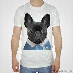 Argentina Rugby Frenchie T-shirt