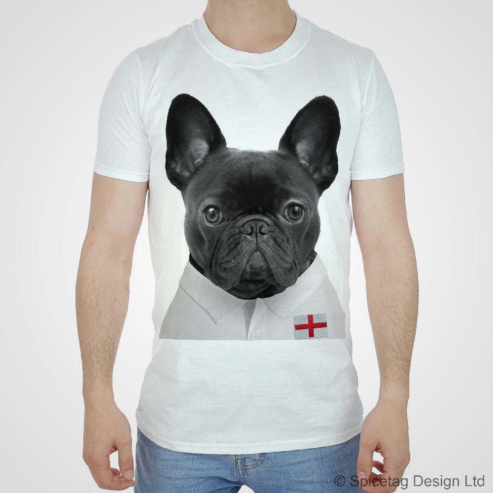 England Rugby Frenchie T-shirt