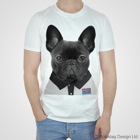 Fiji Rugby Frenchie T-shirt